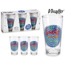 set of 3 glasses soda find beauty 31cl