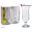 set of 2 holiday cocktail glasses 47 cl
