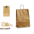 medium gold kraft paper bag