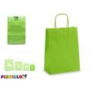 Großhandel Geschenkartikel & Papeterie: hellgrüne Papiertüte mini