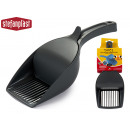 wholesale Garden Equipment: anthracite double pet shovel
