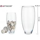 vaso di vetro largo 36 cm