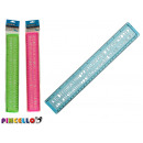 ruler with colorful letters 3 times assorted
