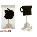 wholesale Decoration: blackboard foot shape apple cup 2 times assorted
