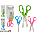 children's scissors dots colors 3 times assort