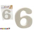 nummer 6 polystyren