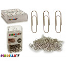100 pieces chrome clips