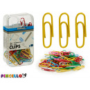 colored clips assorted 80 pieces