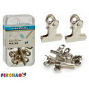 6 pieces chrome clamps