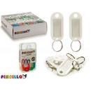 grossiste Cadeaux et papeterie: porte clés couleurs 6 fois assorti pieces