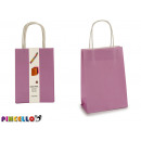 set of 3 purple bags