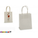 set of 3 small white bags