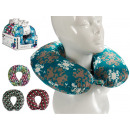 wholesale Toys: decorated travel neck cushion, 4 times assorted c