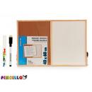 Korkbrett und Whiteboard 40x60