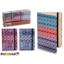 notepad stripes b6 models 3 times assorted