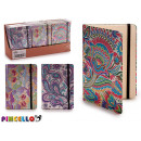 notepad flowers b6 models 3 times assorted