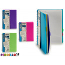 wholesale Booklets & Blocks: block notes b5 stripe colors 4 times assorted 120
