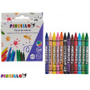 crayon wax 12 pieces