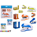 wholesale Gifts & Stationery: stapler + stapler colors 3 times assorted