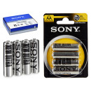 ingrosso Casalinghi & Cucina: SONY - batteria salina ultra r03 aaa blister 4