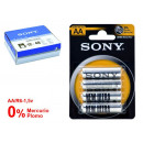 wholesale Batteries & Accumulators: SONY - saline battery ultra r06 aa blister 4