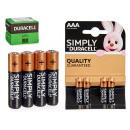Duracell - alkaline battery lr03 aaa blister