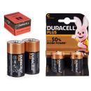 wholesale Batteries & Accumulators: Duracell - alkaline battery lr14 c blister 2