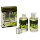 set van 2 flessen groene thee aromatische olie