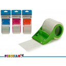 dispenser per sigilli trasparente colori 4 volte