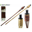 bamboo torch 90cm crossed colors 2 times assorted