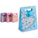 sacchetto di carta risvoltare piccoli colori del c