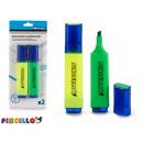 wholesale Pencils & Writing Instruments:2 fluorescent blister