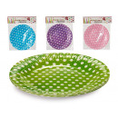 set of 10 small dotted dishes 4 times surt