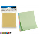 note adesive 76x76mm colori 4 colori volte assorti