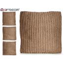 modèles de coussin de laine beig 4 fois assortimen