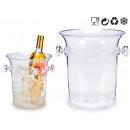 Plastikeimergriffe transparent