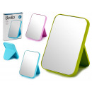 wholesale Mirrors: small plastic mirror, colors 3 times assorted