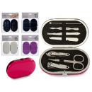 wholesale Manicure & Pedicure: travel manicure set, colors 4 times assorted
