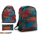karma backpack with plumier models 2 times assorte