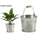 small zinc bucket