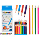 wholesale Pencils & Writing Instruments: 24 triangular colored pencils