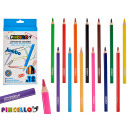 wholesale Pencils & Writing Instruments: 12 colored triangular jumbo pencils