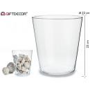 wholesale Flowerpots & Vases:glass jar 22 cm