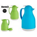 mayorista Casa y cocina: termo jarra 1l colores 2 veces surtido claros