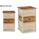 wholesale Small Furniture: wooden cabinet 3 drawers wide