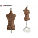 wholesale Business Equipment: mannequin extendable stripes brown