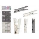 wholesale Manual Tools: set of 16 plastic tweezers, colors 2 times its