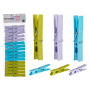 wholesale Garden & DIY store: set of 16 plastic tweezers, colors 3 times its