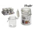 groothandel Home & Living: 150 ml luchtdichte ronde glazen pot