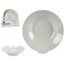 piatti porcellana bianca profonda 20,6cm